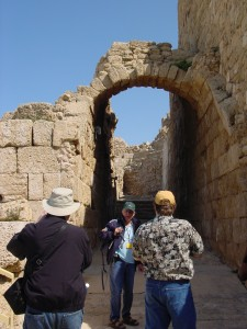 Caesarea - Lamar, Tsion, and Jim