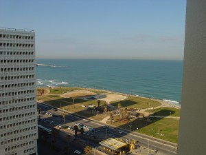 From Hotel Room (Dan Panorama) in Tel Aviv