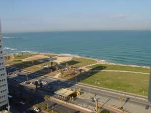 The Mediterranean Sea from My Balcony