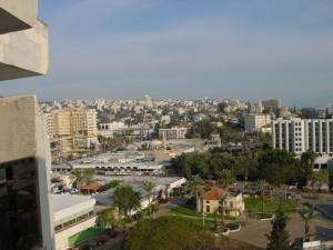 From Sheraton in Tiberias