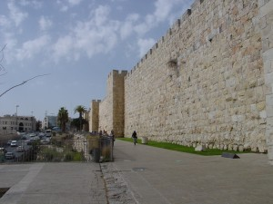 Wall Near Joffa Gate